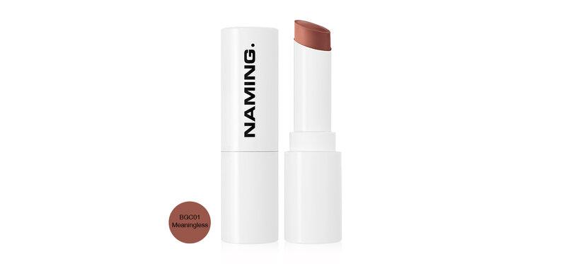 NAMING Soft Mattt Lipstick 4.5g #BGC01 Meaningless