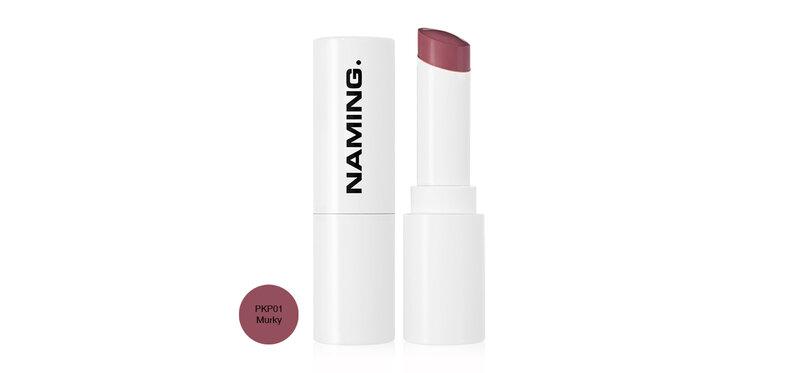 NAMING Melting Glow Lipstick 4.5g #PKP01 Murky