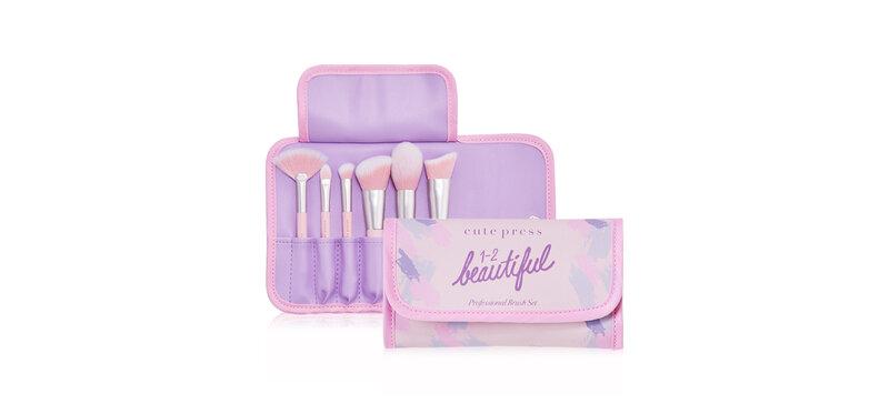 Cute Press 1-2 Beautiful Professional Brush Set