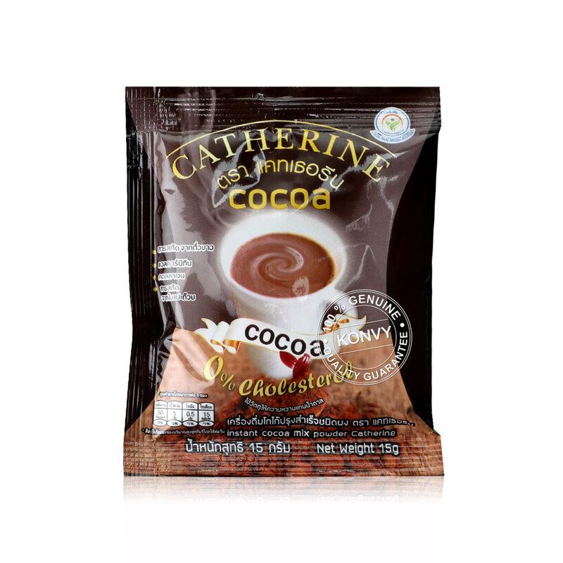 Catherine Instant Cocoa Mixed Powder [15g x 10 Sachets] ( สินค้าหมดอายุ : 2022.07 )