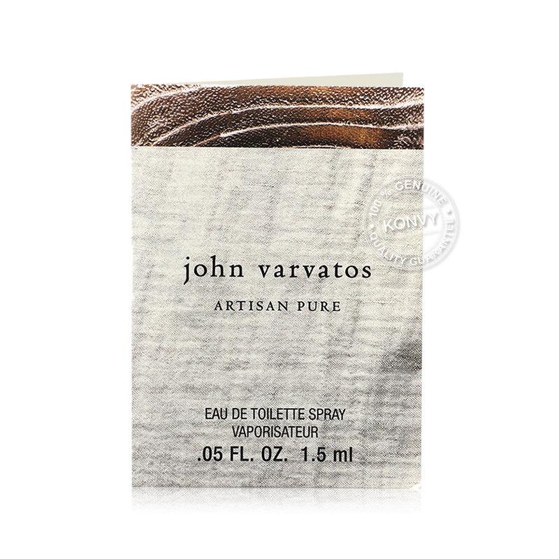 [แพ็คคู่] John Varvatos Artisan Pure Eau De Toilette [1.5mlx2pcs]