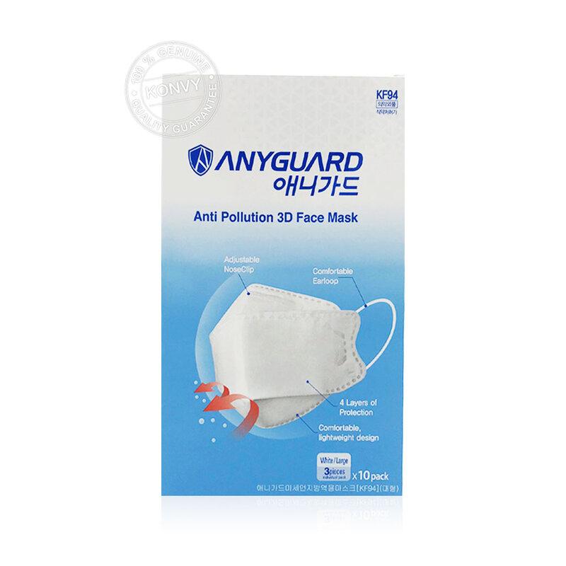 ANYGUARD KF94 Mask White [3pcs]