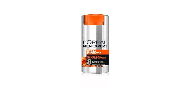 L'Oréal Paris Men Expert Hydra Energetic Multi-Action 8 Anti-Fatigue Moisturizer 50ml
