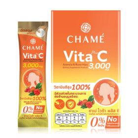 ฟรี! Chame Vita + C Acerola & Rose Hips 6 Sachets (1 ชิ้น / 1 ออเดอร์) เมื่อช้อปสินค้า  Chame ครบ 999.-
