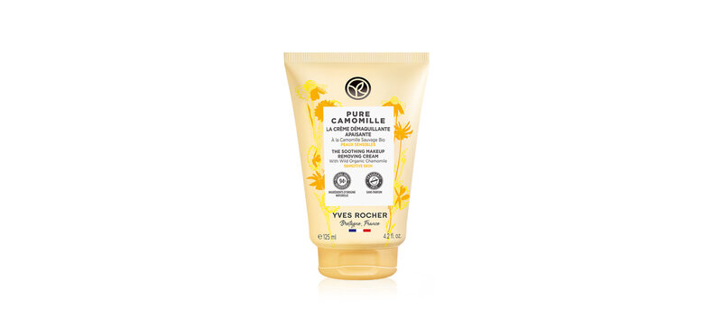 Yves Rocher Pure Camomille The Soothing Makeup Removing Cream 125ml