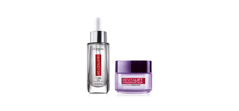 L'Oréal Paris Set 2 Items Revitalift Hyaluronic Acid Cream 50ml + Serum 30ml