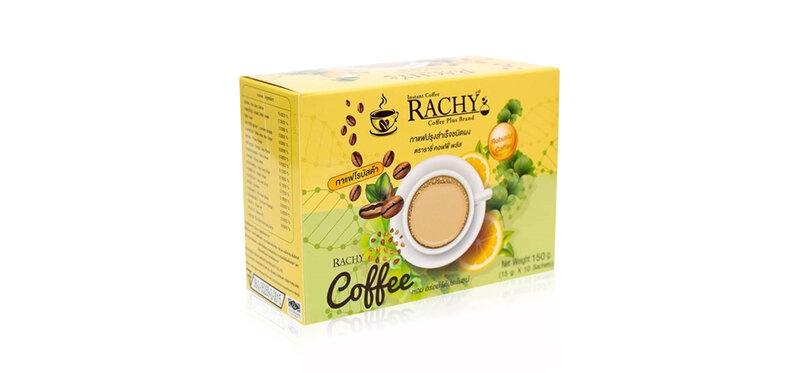 Rachy Instant Coffee Rachy Coffee Plus [15g x 10 Sachets]