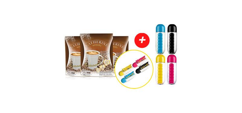Catherine Instant Coffee Mixed Powder Set [Free! Tumbler Random Color]