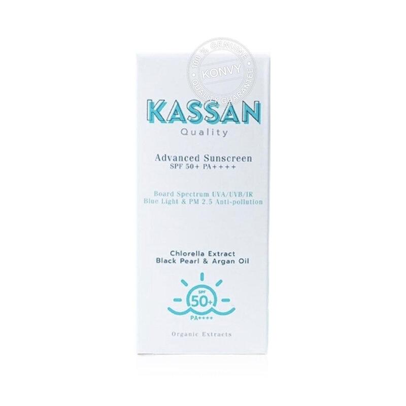 Kassan Advanced Sunscreen SPF50+/PA++++30ml ( สินค้าหมดอายุ : 2022.07 )