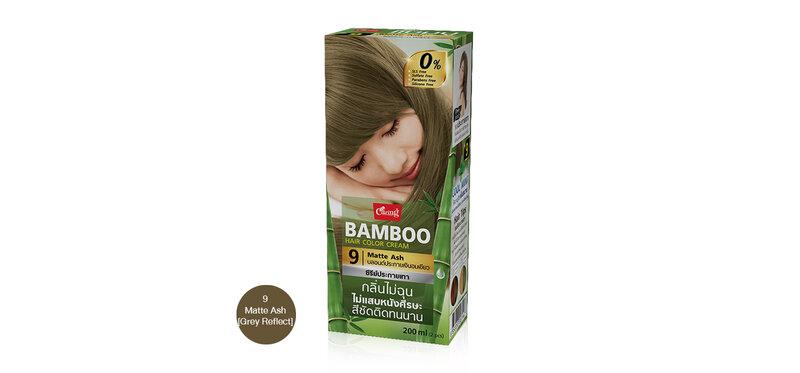 Caring Bamboo Hair Color Cream 100ml #9 Matte Ash [Grey Reflect]
