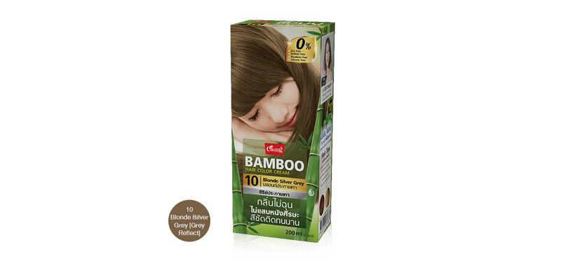 Caring Bamboo Hair Color Cream 100ml #10 Blonde Silver Grey [Grey Reflect]