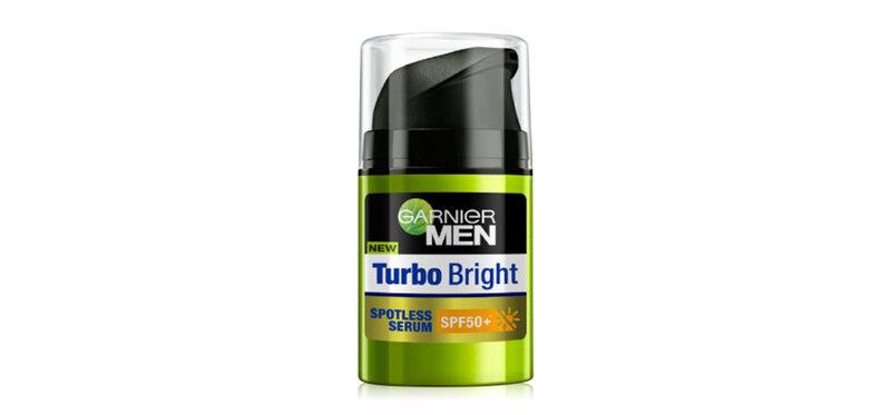 Garnier Men Turbobright Spotless Serum SPF50+ 40ml
