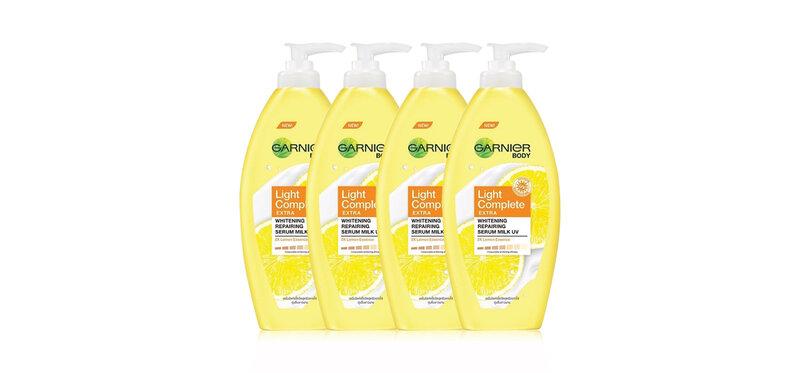 [แพ็คสี่] Garnier Bright Complete Extra Body Lotion [400ml x 4pcs]
