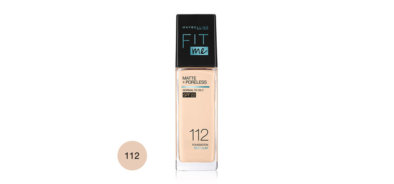 Maybelline New York Fit Me Matte And Poreless Liquid Foundation 30ml #112