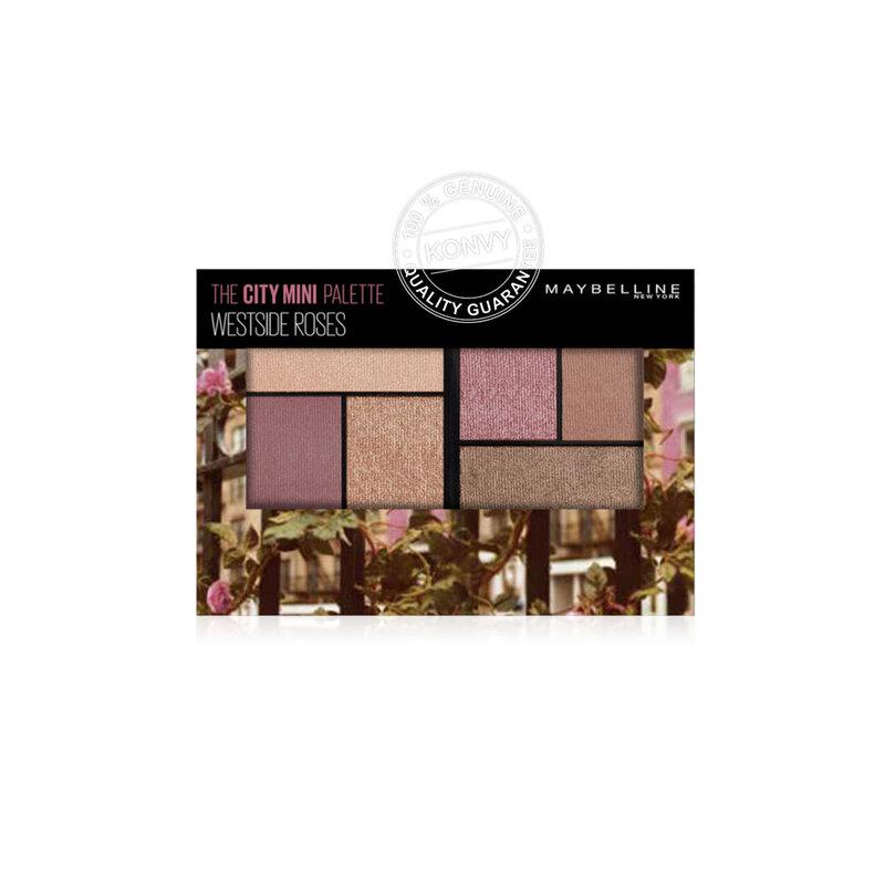 Maybelline New York The City Mini Eyeshadow Palette 6.1g #Westside Roses