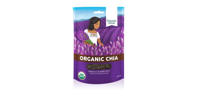 Organic Seeds Organic Chia Seeds 200g