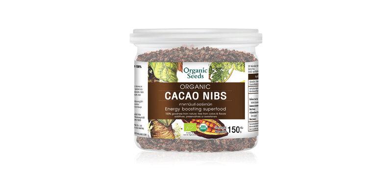 Organic Seeds Organic Cacao Nibs 150g