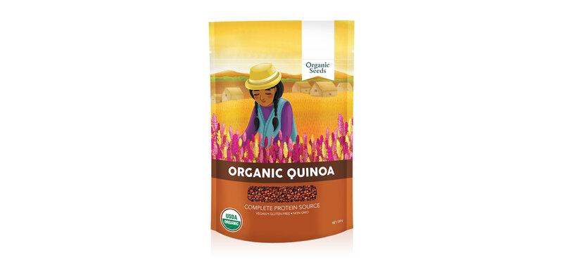 Organic Seeds Organic Red Quinoa 350g