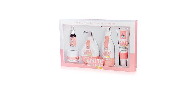 Amado White Collagen Set [5 Items]