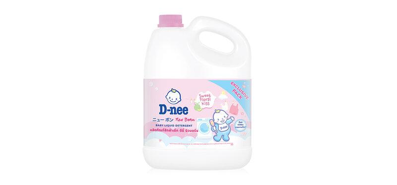 D-nee Baby Liquid Detergent Sweet Floral 3000ml [Pink]