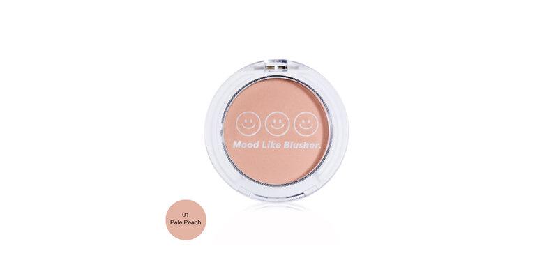 Candylab Mood Like Blusher 4.5g #01 Pale Peach