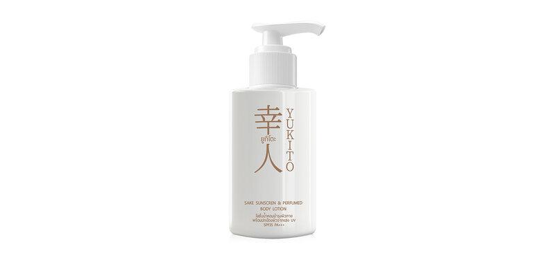 YUKITO Sake Sunscreen & Perfumed Body Lotion 100ml