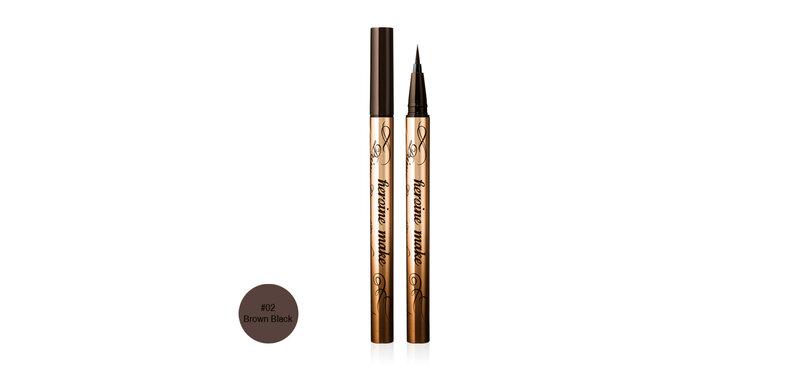 Kiss me Heroine Make Prime Liquid Eyeliner Rich Keep 0.4ml #02 Brown Black
