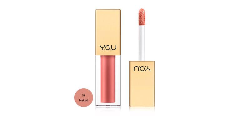 Y.O.U Rouge Velvet Matte Lip Cream 4.5g #02 Naked