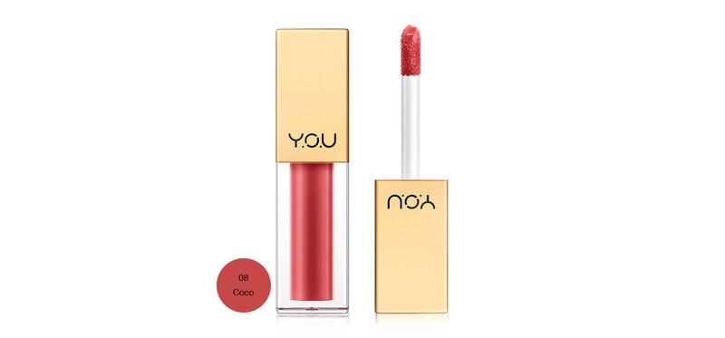 Y.O.U Rouge Velvet Matte Lip Cream 4.5g #08 Coco