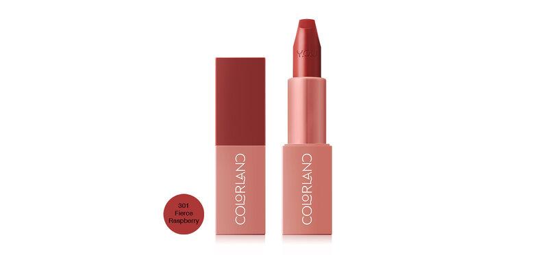 Y.O.U Colorland Juicy Pop Lipstick 3.8g #301 Fierce Raspberry
