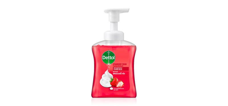 Dettol Foaming Handwash Anti-Bacteria Strawberry Crush 250ml