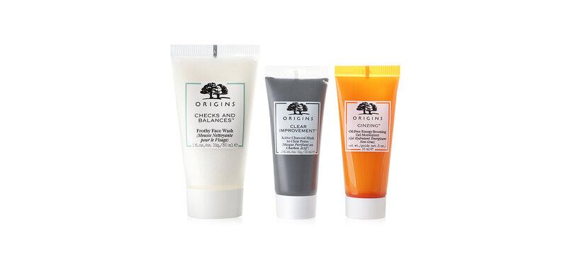 Origins Fresh-Faced Favorites Best-Selling Skincare Essentials