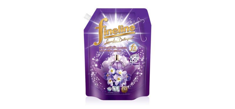 Fineline Liquid Detergent Deluxe Perfume [Violet] 1400ml